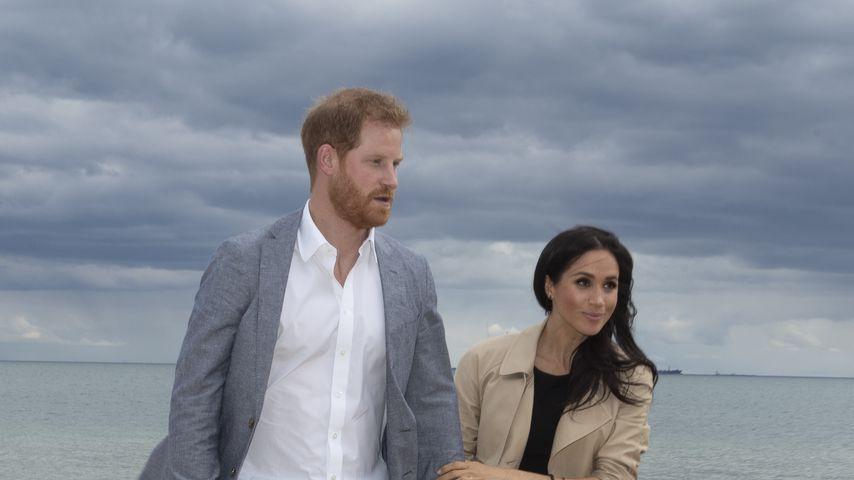 Prinz Harry und Herzogin Meghan in Melbourne im Oktober 2018