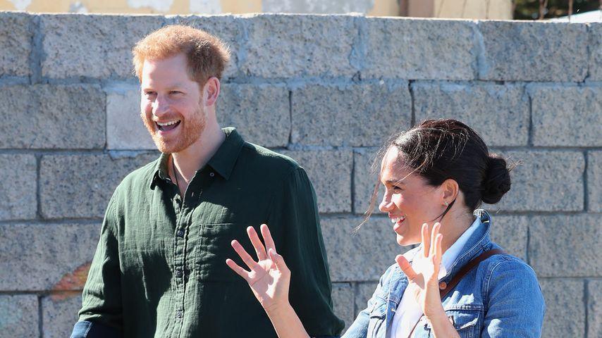 Prinz Harry und Herzogin Meghan am zweiten Tag ihrer Afrika-Tour