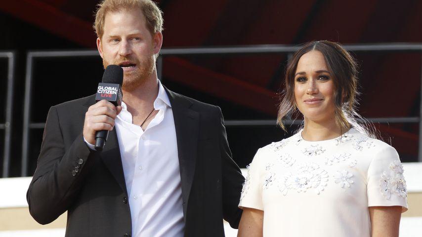 Prinz Harry und Herzogin Meghan 2021 in New York
