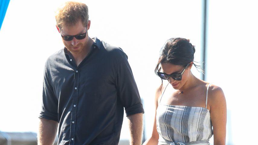 Kontroverses Schlitz-Kleid: Bricht Meghan damit Royal-Regel?