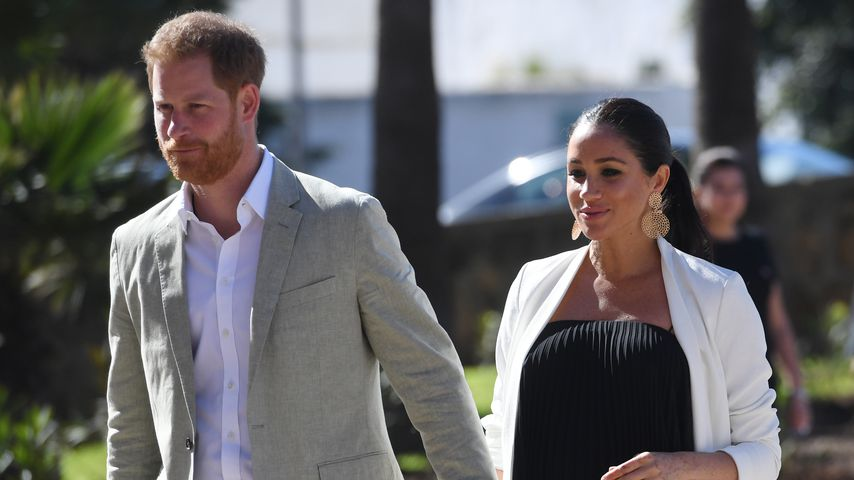 Prinz Harry und Herzogin Meghan im Februar 2019