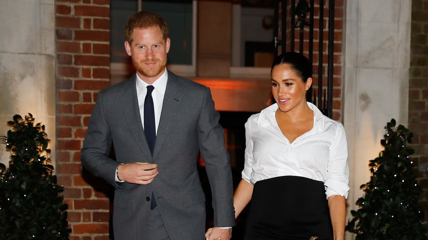 Hand in Hand: Harry & schwangere Meghan verzaubern London!