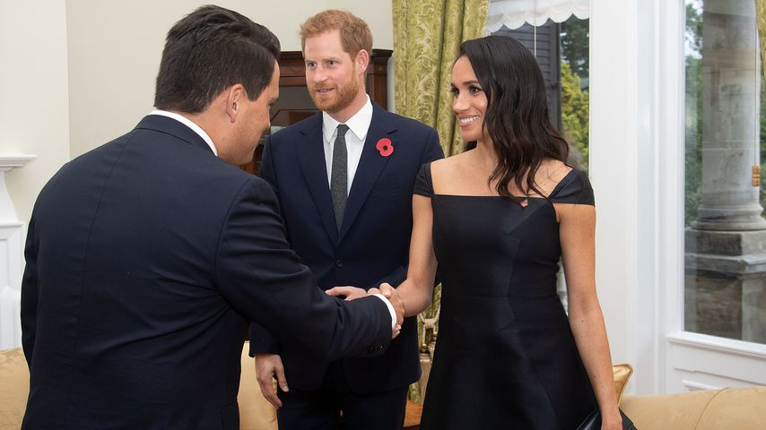 Prinz Harry und Herzogin Meghan in Wellington, Neuseeland