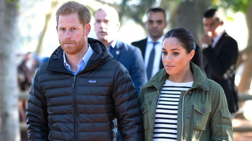 Prinz Harry und Herzogin Meghan, Februar 2019