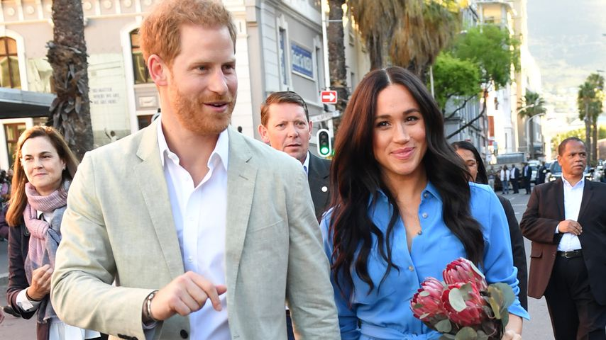 In Afrika: Prinz Harry und Meghan eröffnen Diana-Krankenhaus