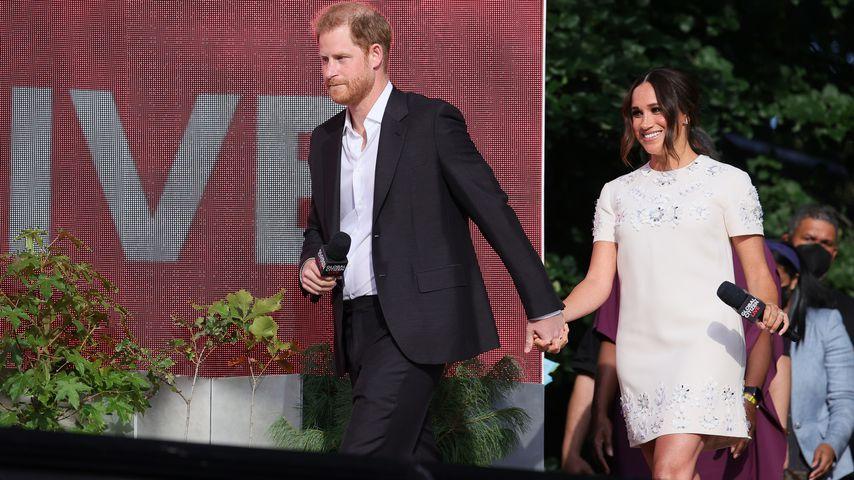 Prinz Harry und Herzogin Meghan in New York, September 2021