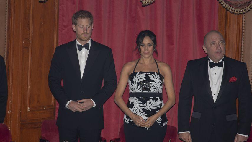 Prinz Harry und Herzogin Meghan im London Palladium