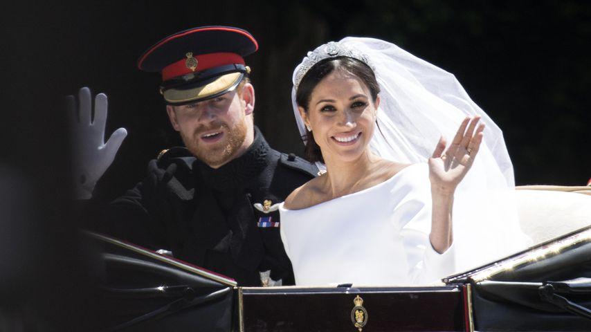 Harry & Meghan: So bedanken sie sich bei den Hochzeitsgästen