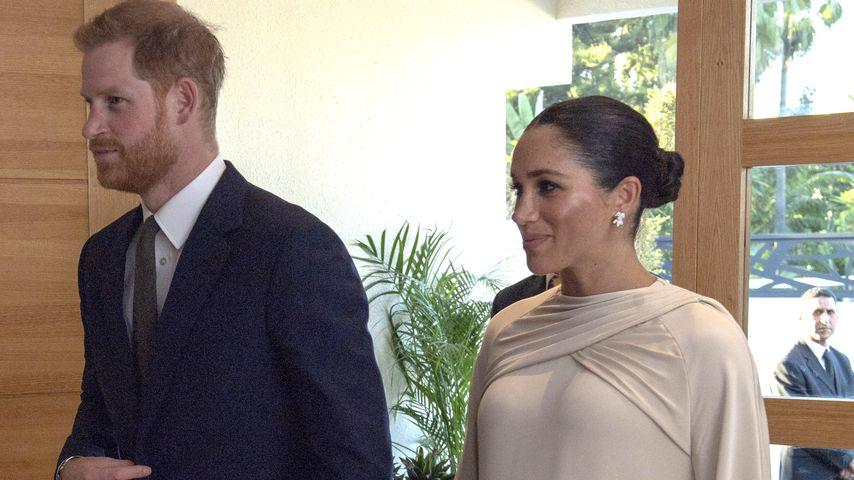 Prinz Harry und Herzogin Meghan während ihres Staatsbesuches in Marokko 2019