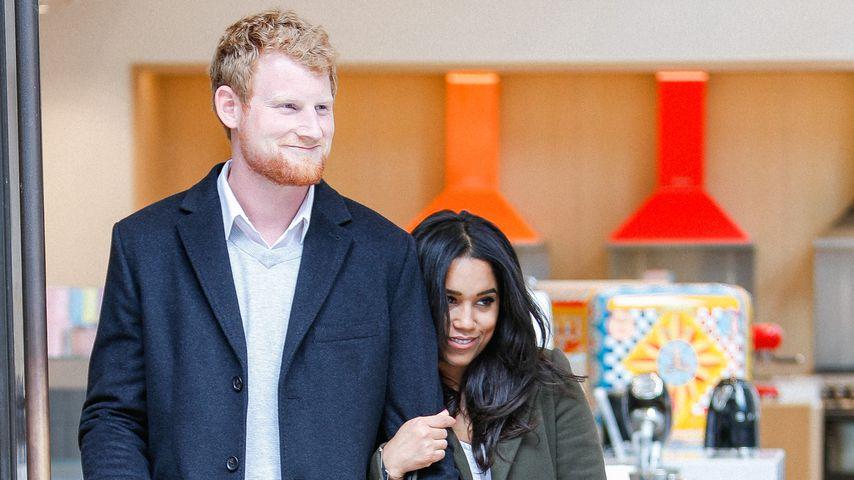 Vor Hochzeit: Meghan & Prinz Harry-Doubles sorgen für Furore