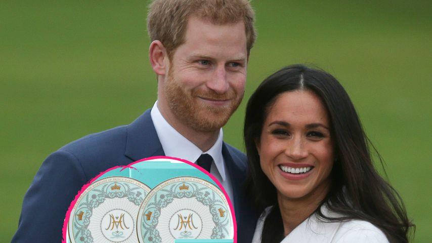 Königliche Ehre: Teeservice zu Harrys & Meghans Hochzeit