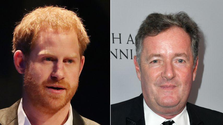 Wegen Harrys Buchankündigung: Piers Morgan wütet im Netz