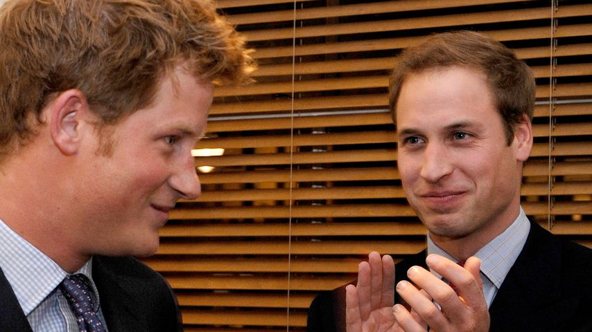 Stinkbomben-Alarm: Harry und Williams bester Jugendstreich?