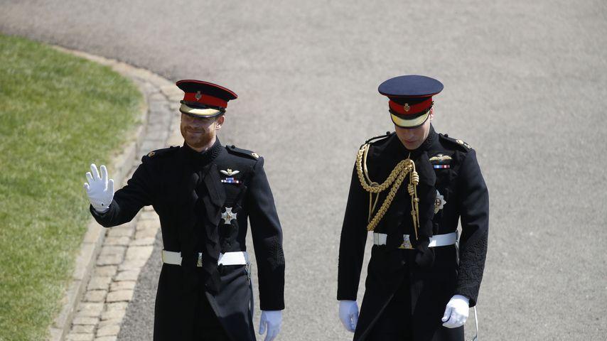 Mega-nervös: Bräutigam Prinz Harry trifft bei Hochzeit ein!