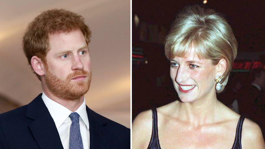 """""""Tiefe Wunden"""": So sehr leidet Harry noch unter Dianas Tod"""