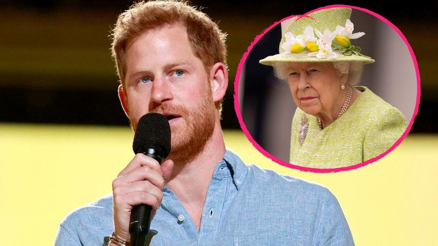 Harry ignorierte Bitte der Queen, Probleme privat zu halten