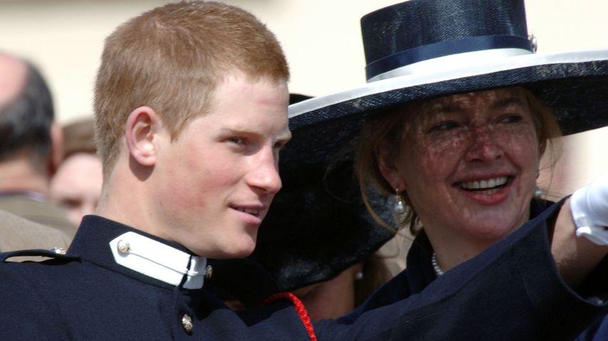 Prinz Harry und sein Kindermädchen Tiggy Legge-Bourke, England 2006