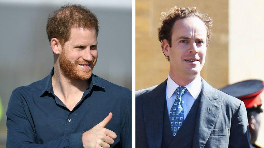Prinz Harrys bester Freund Tom Inskip ist Vater geworden!