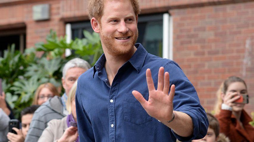 Prinz Harry bei einem Besuch in Nottingham in Oktober 2016