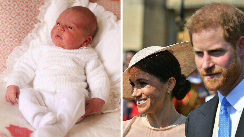 Prinz Louis Taufe Werden Prinz Harry Meghan Paten
