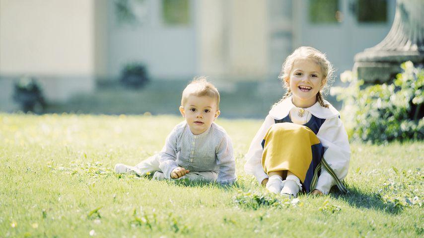 Soooo süß! Neue Fotos von Prinzessin Estelle & Bruder Oscar