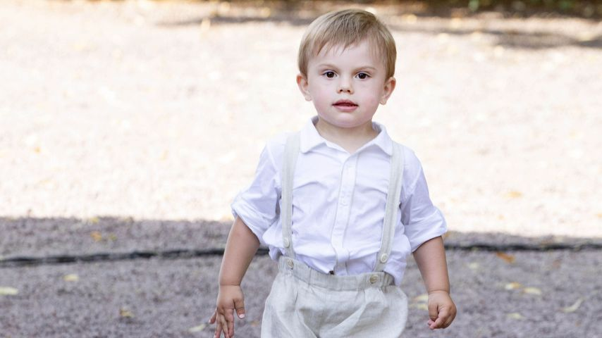 Prinz Oscar von Schweden, Sohn von Prinzessin Victoria