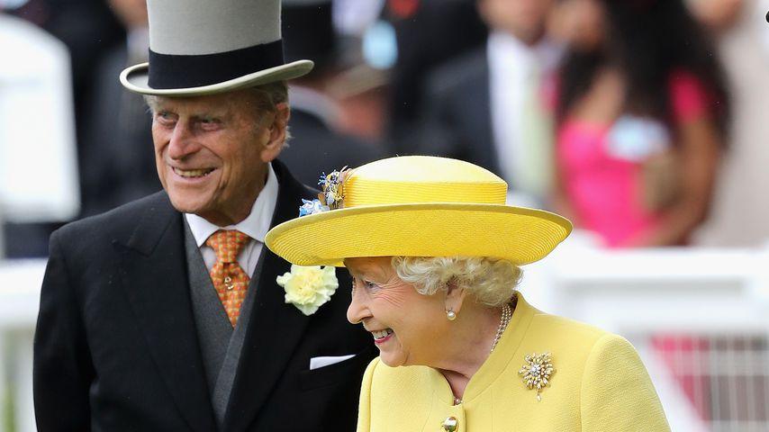 Prinz Philip und Queen Elizabeth II. bei der Royal-Ascot-Rennwoche 2016
