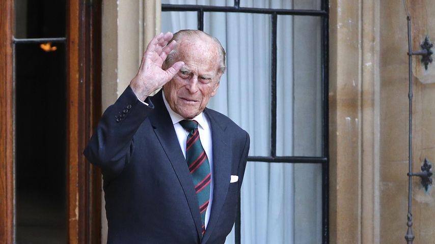 Offizielles Gesundheitsupdate: Prinz Philip hat Infektion