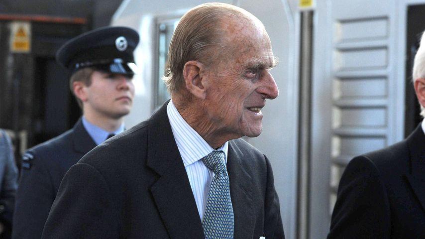 Sorge um Prinz Philip (96): Mann der Queen im Krankenhaus!