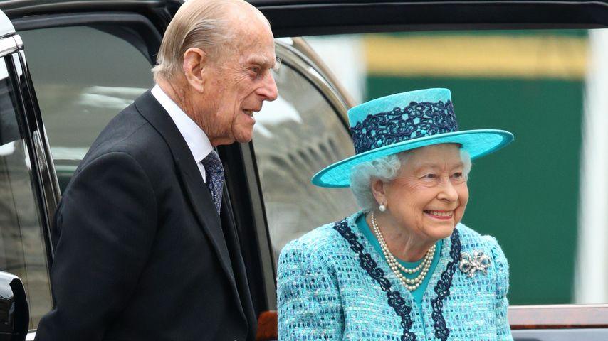 Sportlich! Queen Elizabeth II. (89) auf Reiter-Tour