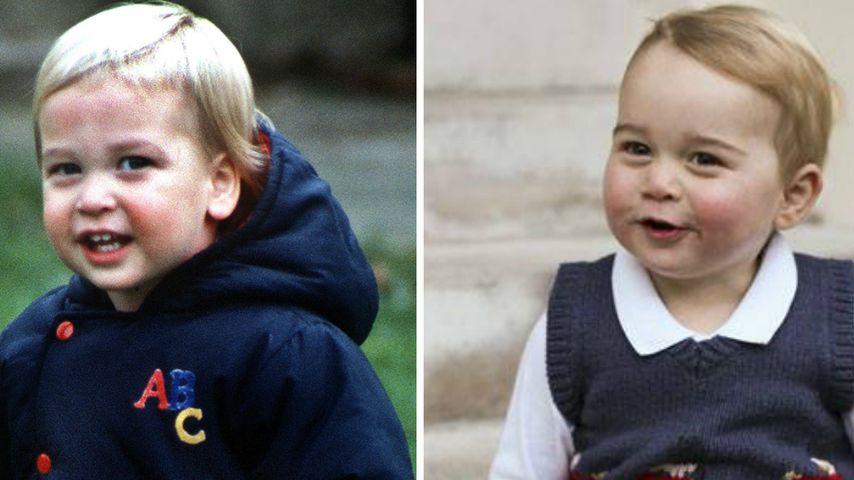 Wow! So ähnlich sieht Prinz George seinem Vater