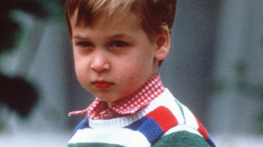 Prinz William in Kindertagen