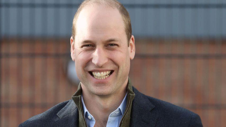 Prinz William bei einem Charity-Fußballturnier im Januar 2020