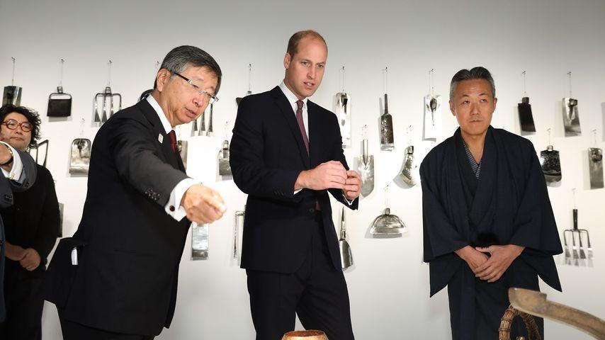 Prinz William begeht bei Termin üblen Kultur-Fauxpas!