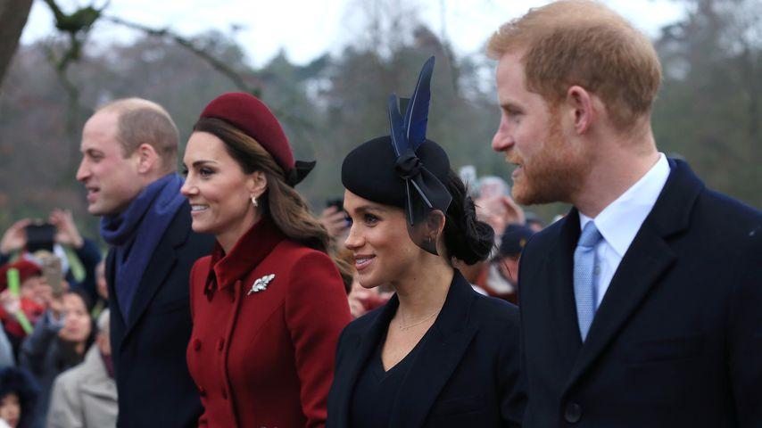 William und Kate dieses Jahr ohne Harry und Meghan im Urlaub