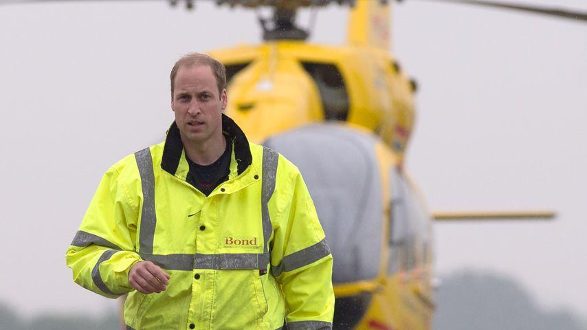 Zwei Jahre Rettungspilot: So hart war es für Prinz William!