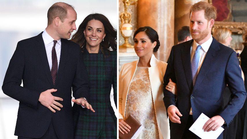 Werden Herzogin Kate & Prinz William Paten von Meghans Baby?