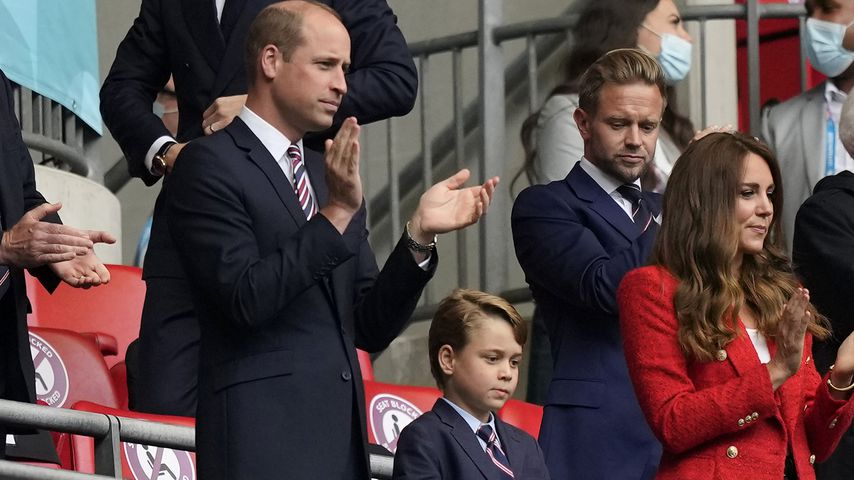 England gegen Deutschland: Auch die Royals fiebern mit!