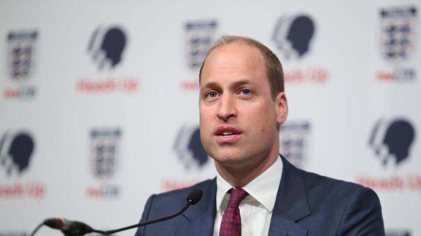 Prinz William hielt seine erste Rede bereits mit zehn Jahren