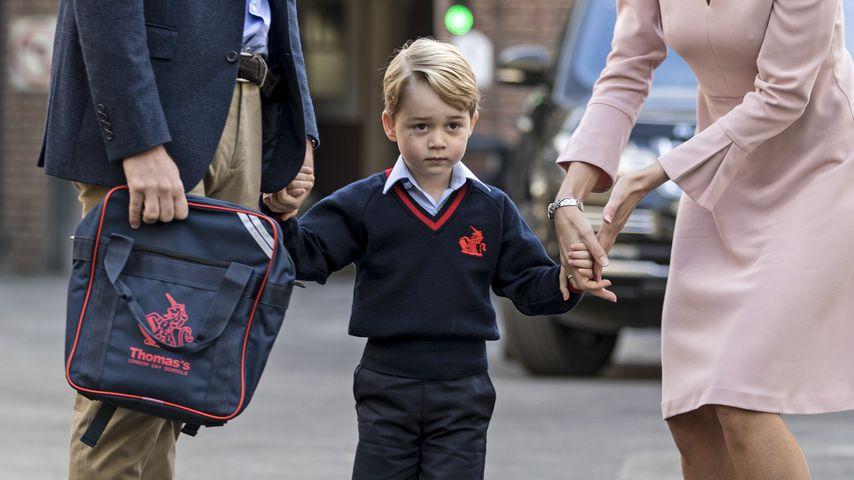Nach Georges Geburtstag: Kate & William senden Dankeskarten