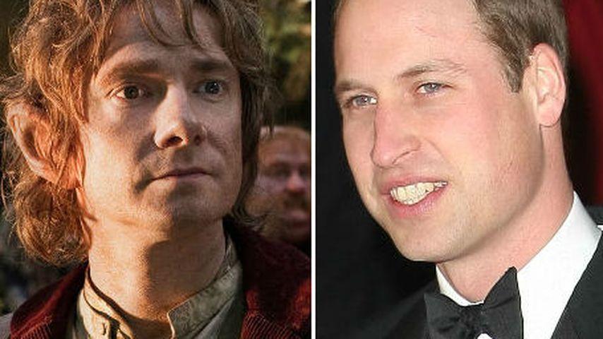 Wer hätte es gedacht! Prinz William ist Hobbit-Fan