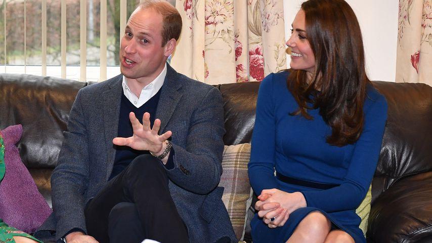 Prinz William und Herzogin Kate in Nordirland im Februar 2019