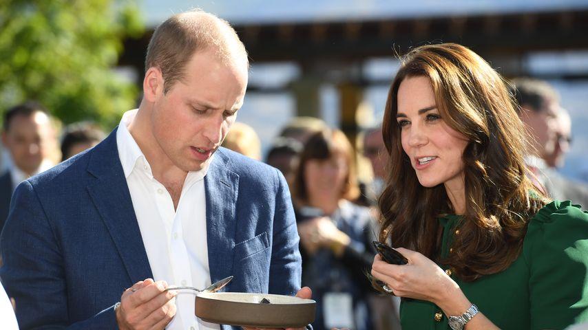 Prinz William und Herzogin Kate bei einer Verkostung in Kelowna, Kanada
