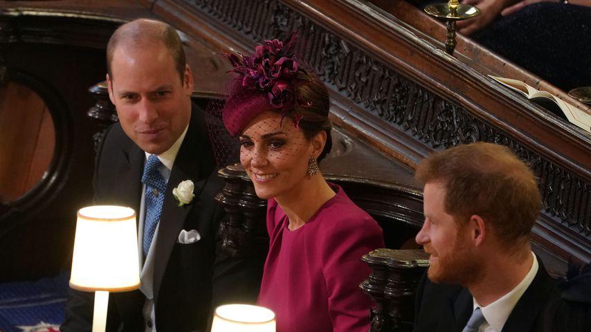 Prinz William und Herzogin Kate bei der Hochzeit von Prinzessin Eugenie 2018