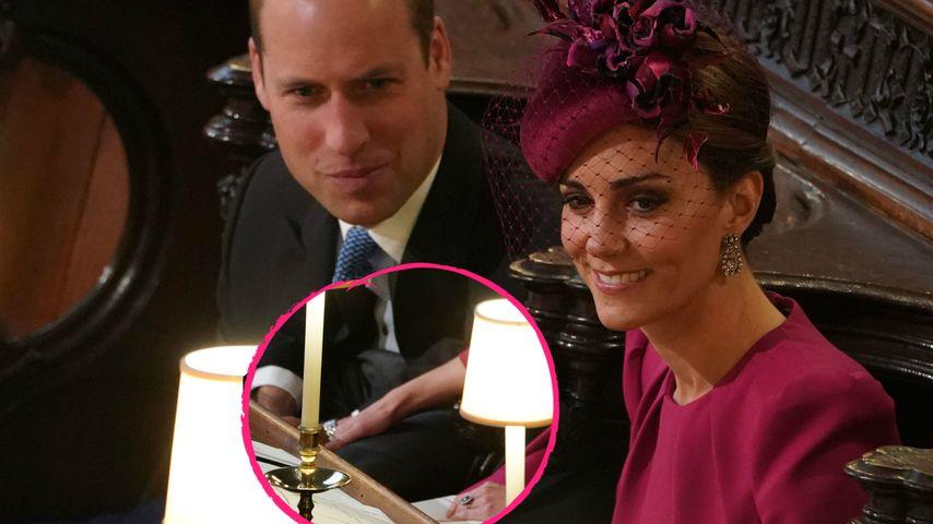 Seltener Anblick: Kate & William hielten verliebt Händchen!
