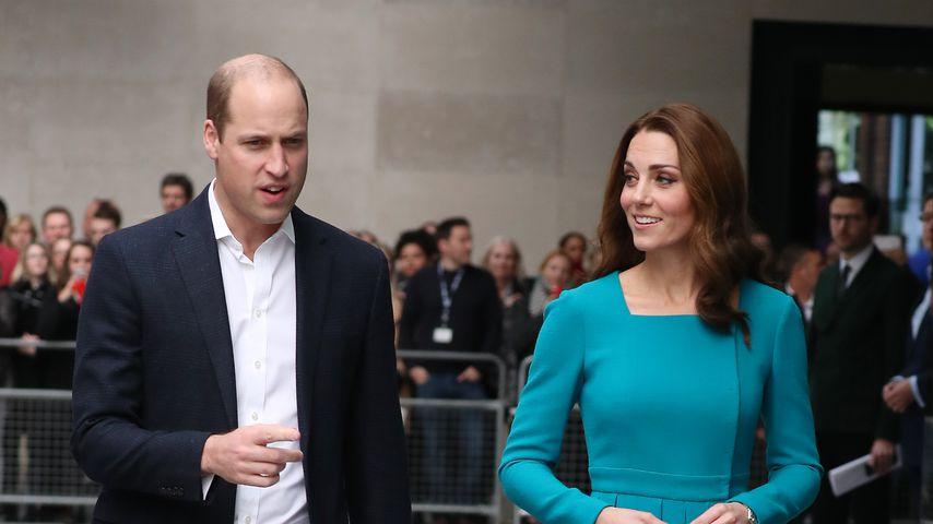 Prinz William und Herzogin Kate im BBC Broadcasting House in London