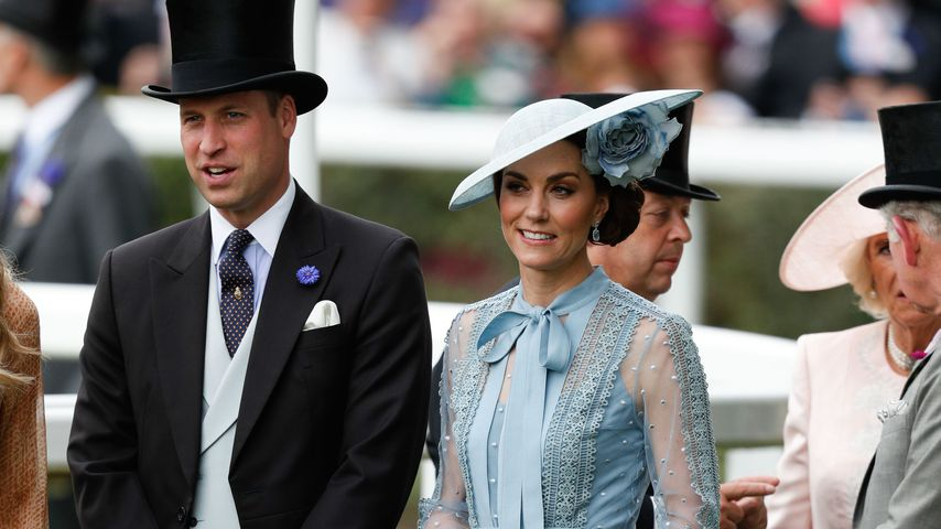 Prinz William und Herzogin Kate im Juni 2019 in Ascot