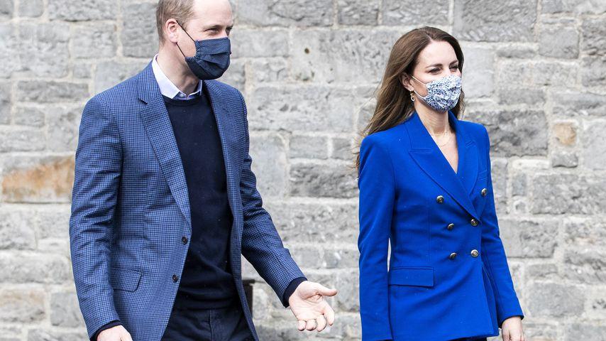 Prinz William und Herzogin Kate im Mai 2021