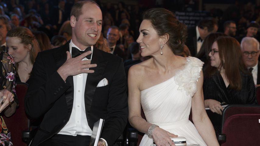 Prinz William und Herzogin Kate bei den BAFTAs im Februar 2019
