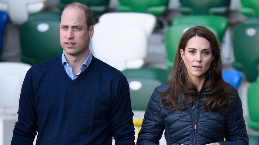 Prinz William und Herzogin Kate im Februar 2019